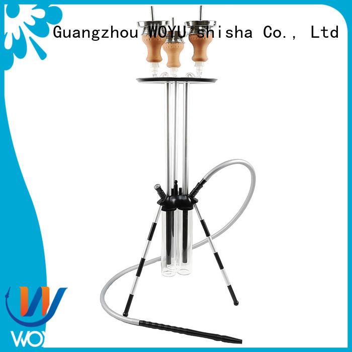 WOYU custom aluminum shisha supplier for smoker