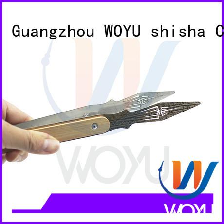 WOYU custom coal tong supplier for smoker