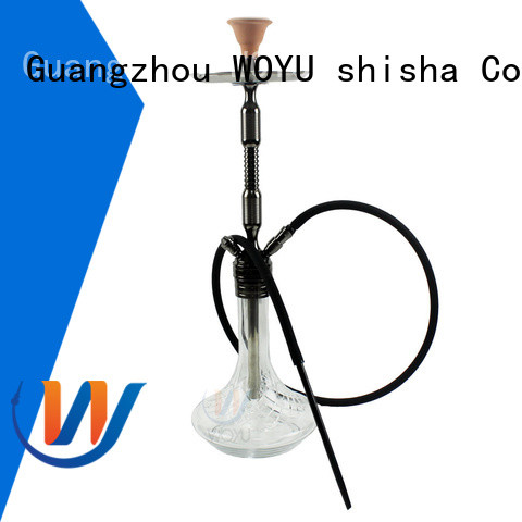 WOYU aluminum shisha manufacturer for smoker