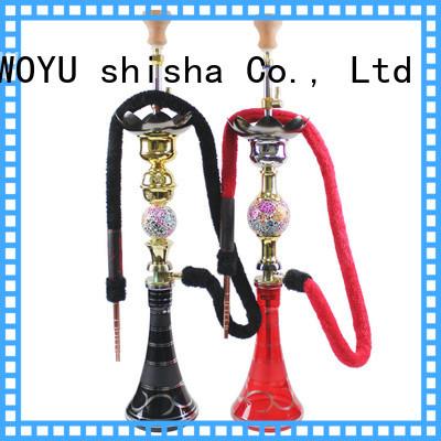 WOYU zinc alloy shisha supplier for smoker