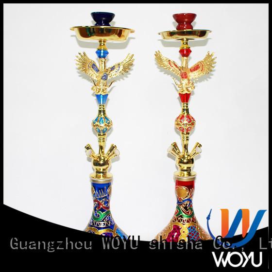 WOYU new iron shisha manufacturer for smoker