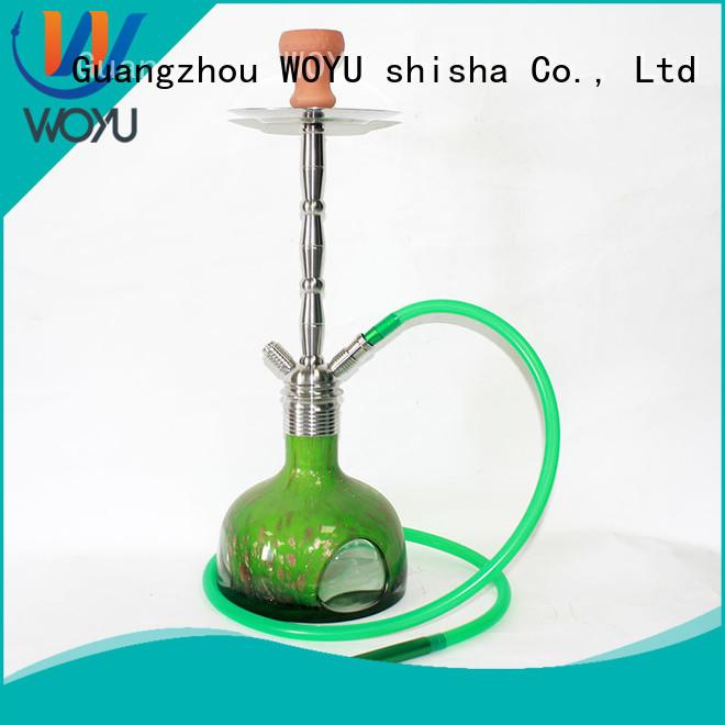 WOYU new stainless steel shisha factory for smoking