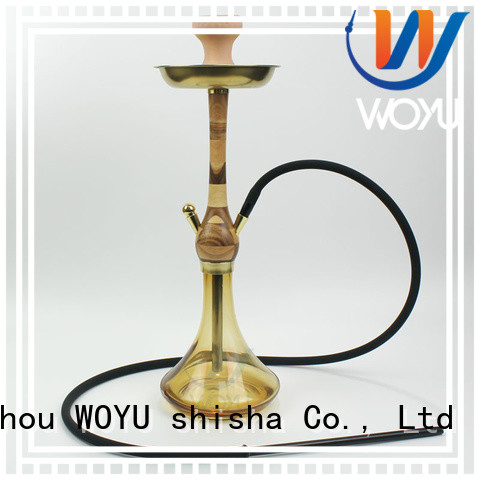 WOYU new wooden shisha manufacturer for smoking