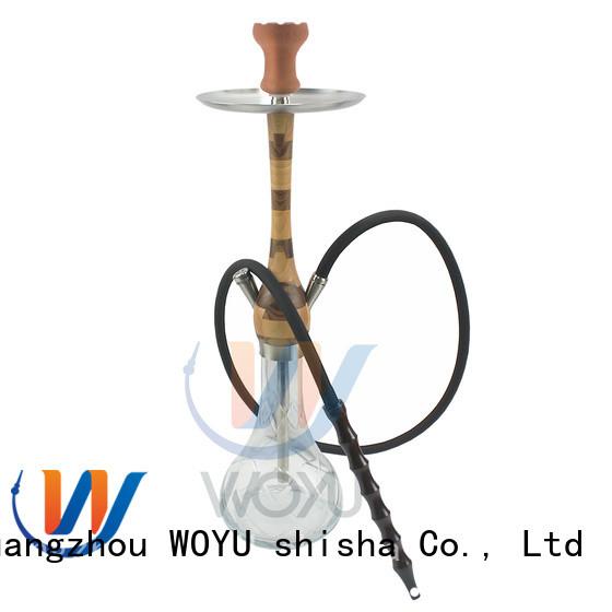 WOYU new wooden shisha supplier for smoker