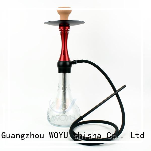 WOYU personalized aluminum shisha one-stop services for wholesale