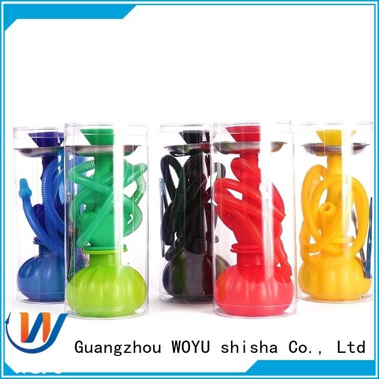 WOYU silicone shisha manufacturer for smoker