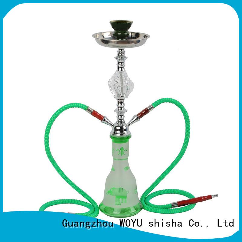 WOYU high standard iron shisha factory for smoking