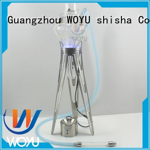 WOYU stainless steel shisha factory for pastime