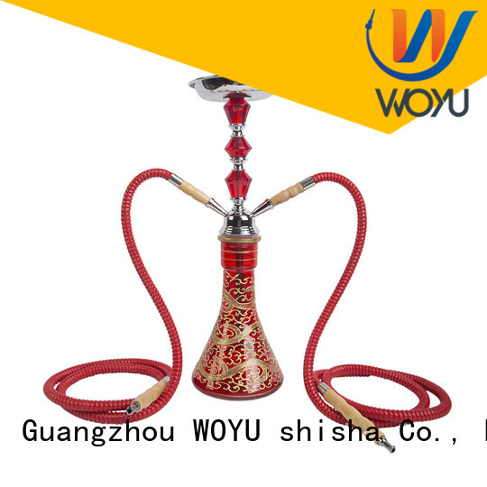 WOYU iron shisha factory for smoking