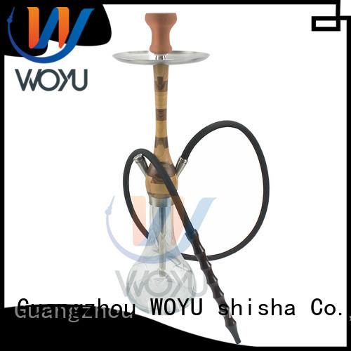 WOYU wooden shisha factory for smoking