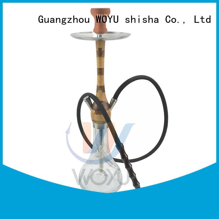 WOYU custom wooden shisha manufacturer for pastime