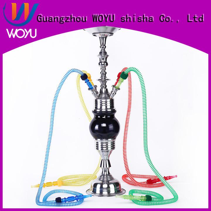 WOYU stainless steel shisha factory for smoker