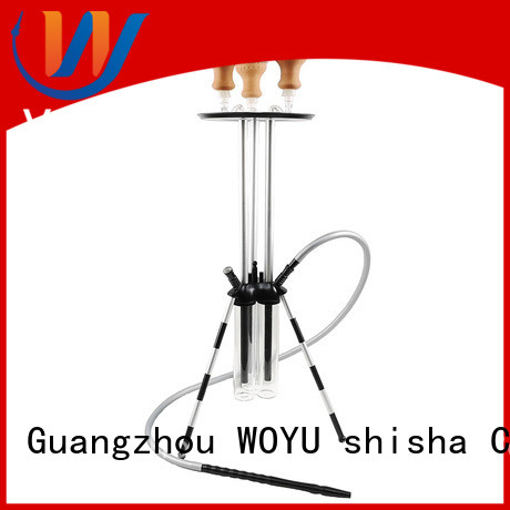 WOYU custom aluminum shisha supplier for pastime