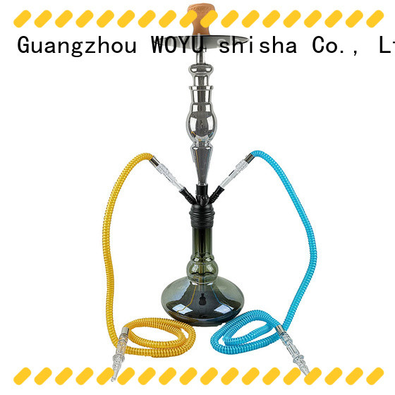 WOYU zinc alloy shisha factory for sale