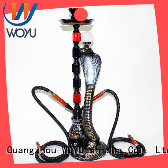 WOYU new resin shisha manufacturer for pastime