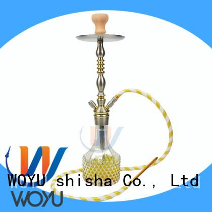 WOYU fashion aluminum shisha manufacturer for smoking