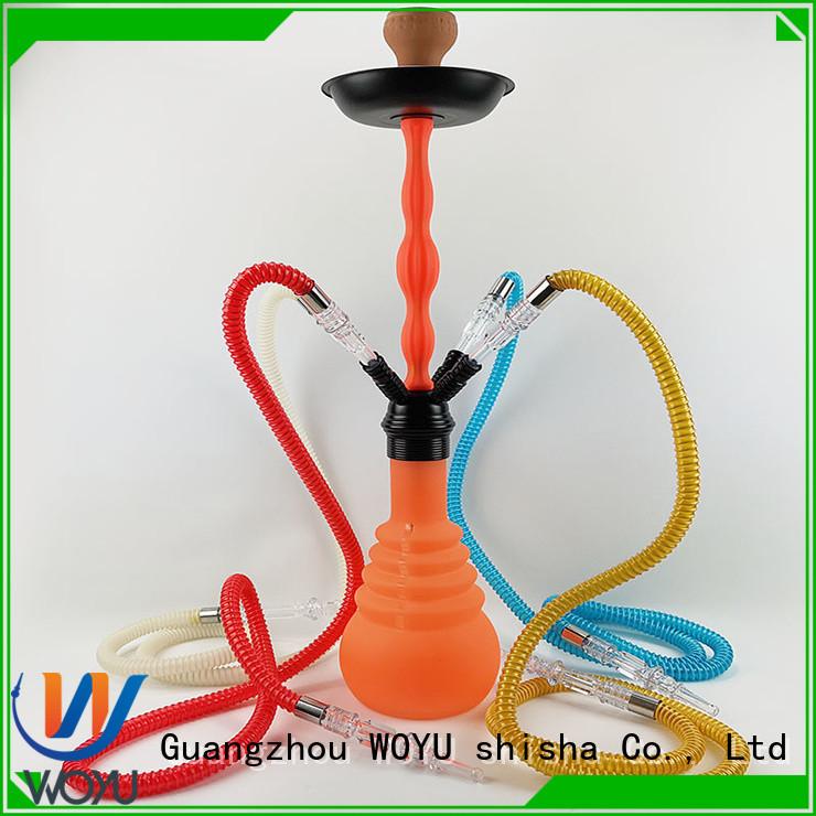 WOYU high quality silicone shisha factory for pastime