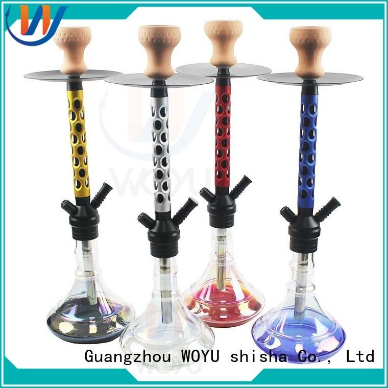 WOYU aluminum shisha manufacturer for smoking