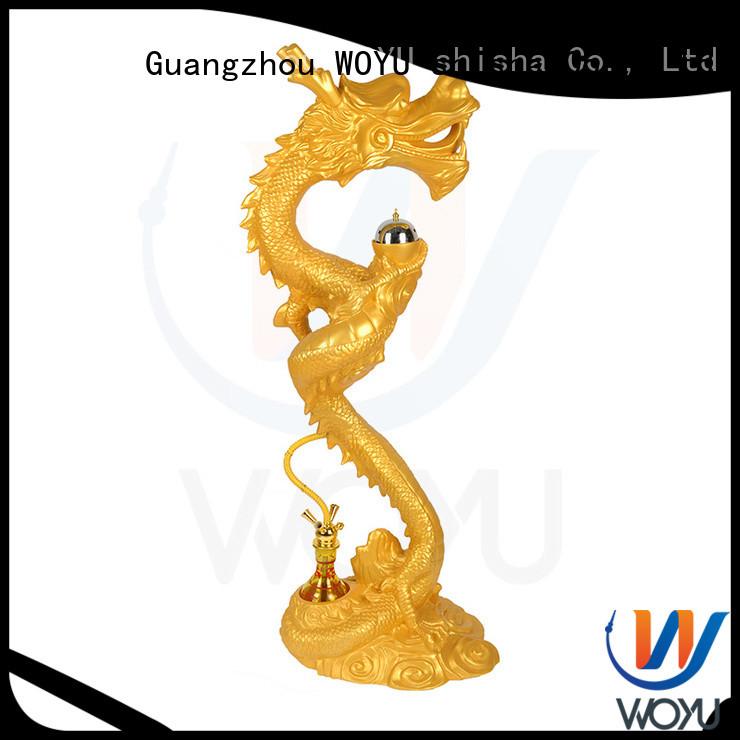 WOYU high quality resin shisha supplier for smoking