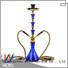 WOYU high quality iron shisha supplier for pastime
