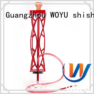 WOYU acrylic shisha supplier for smoking