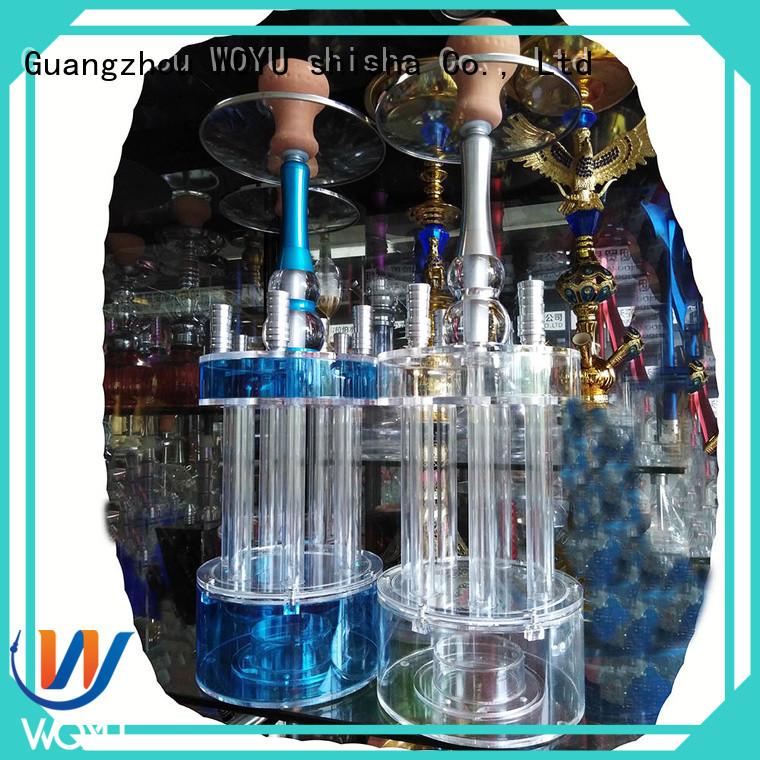 WOYU new acrylic shisha manufacturer for smoking