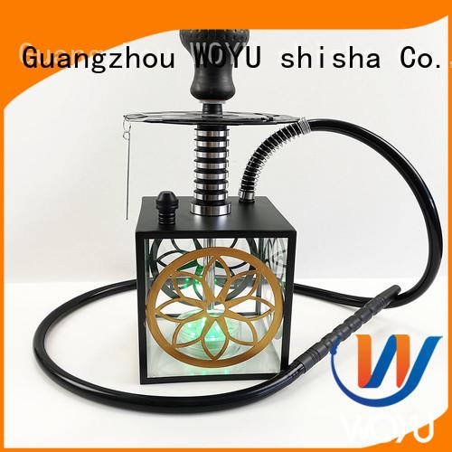 WOYU custom acrylic shisha factory for smoking