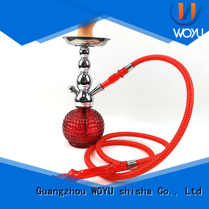 WOYU new zinc alloy shisha factory for smoker
