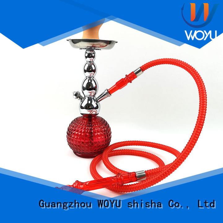 WOYU new zinc alloy shisha factory for smoker