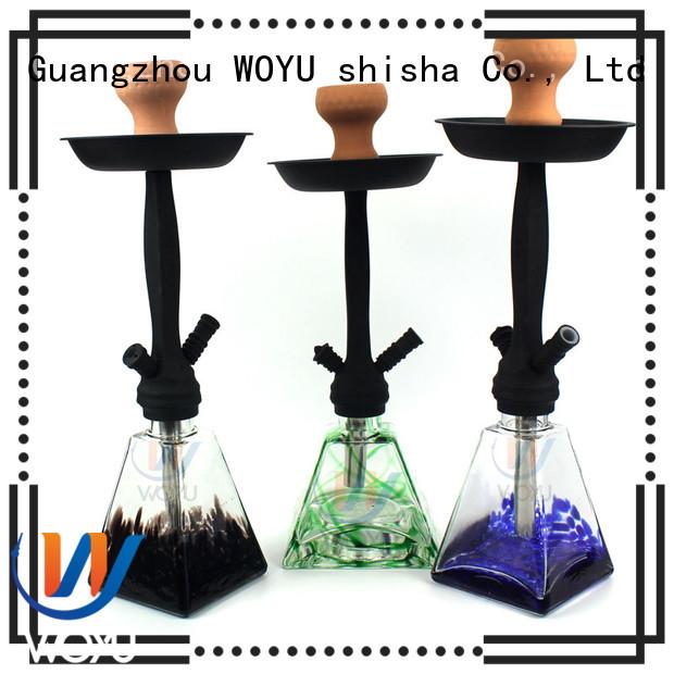 WOYU high quality zinc alloy shisha manufacturer for smoker