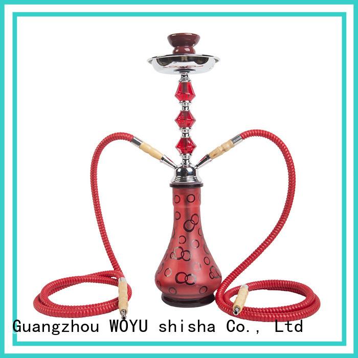WOYU personalized iron shisha supplier for smoker