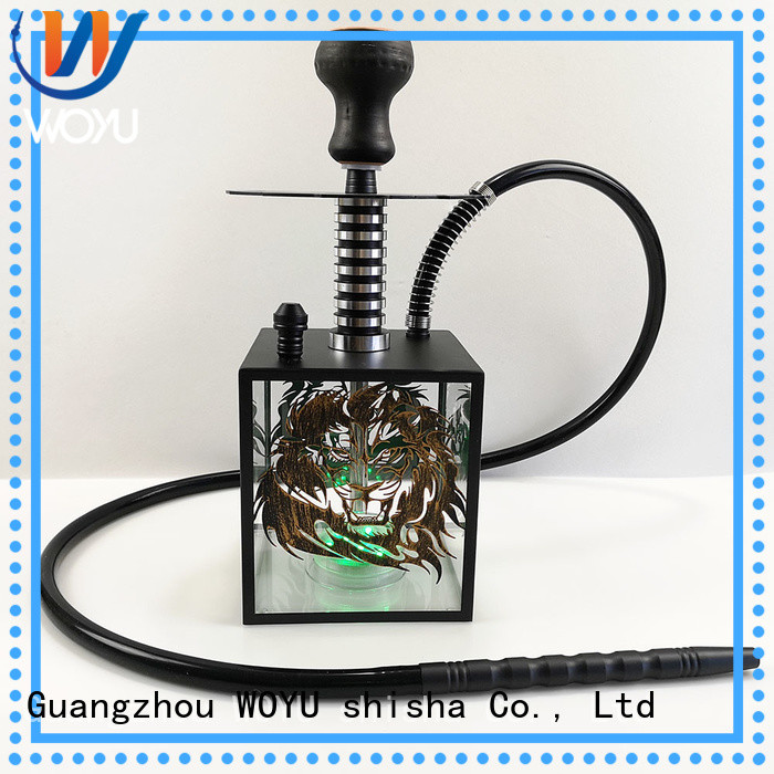 fashion acrylic shisha manufacturer for smoker