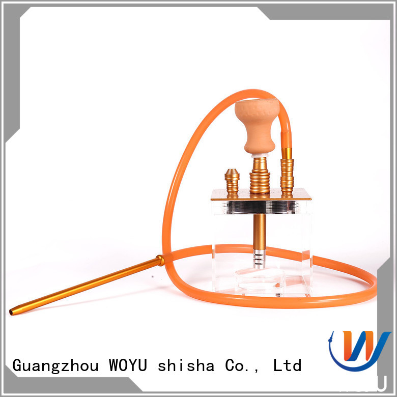 WOYU fashion acrylic shisha factory for smoking