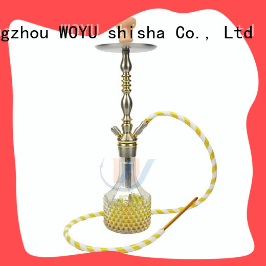 WOYU 100% quality aluminum shisha one-stop services for wholesale
