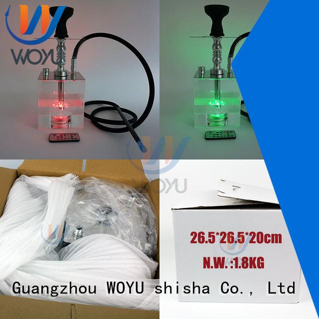 WOYU hokkah factory for smoking