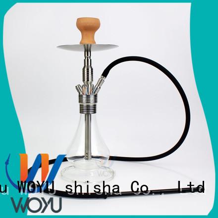 WOYU stainless steel shisha supplier for smoker