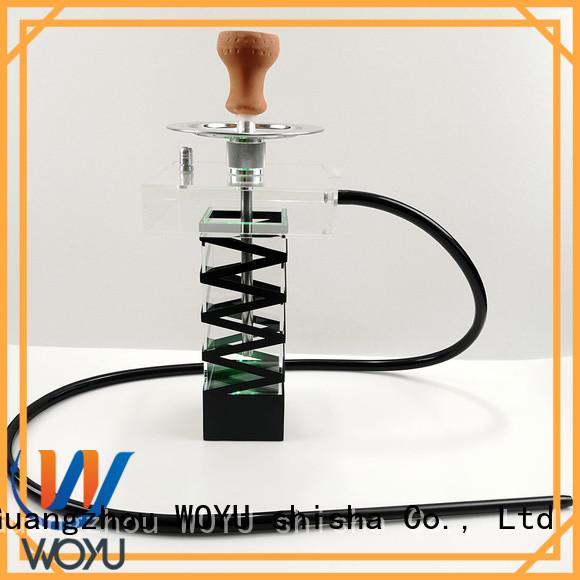WOYU acrylic shisha factory for smoking