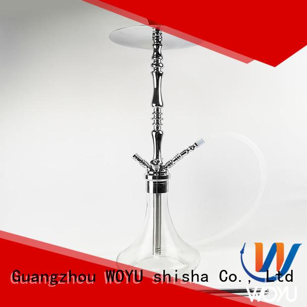 WOYU custom zinc alloy shisha factory for smoker