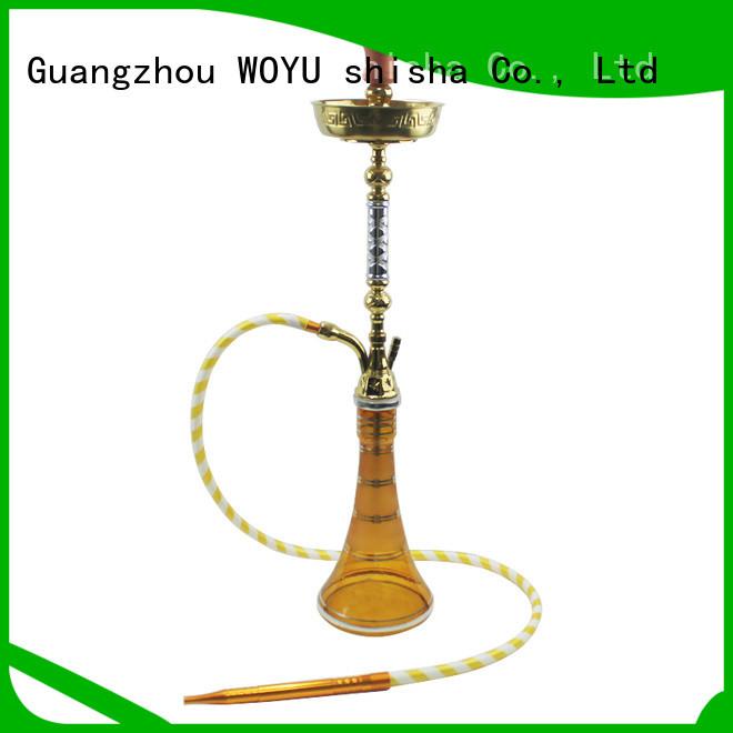 WOYU best-selling zinc alloy shisha supplier for sale