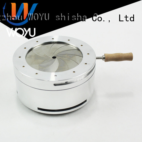 WOYU professional charcoal holder supplier for importer