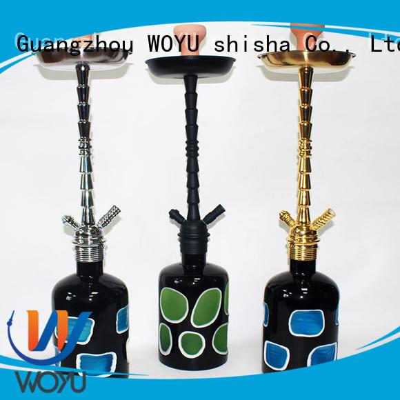WOYU zinc alloy shisha manufacturer for sale