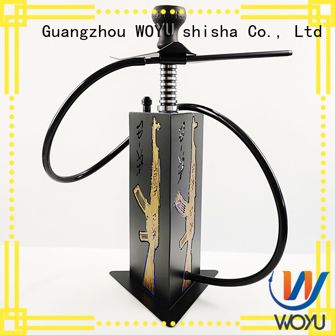 WOYU acrylic shisha supplier for pastime