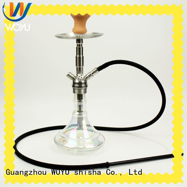 WOYU stainless steel shisha manufacturer for smoking