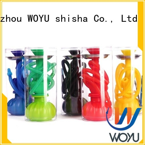 WOYU silicone shisha supplier for pastime
