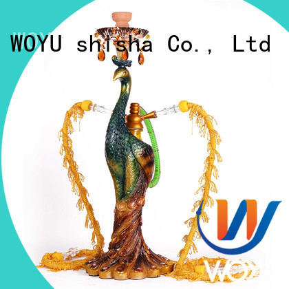 WOYU resin shisha factory for smoker