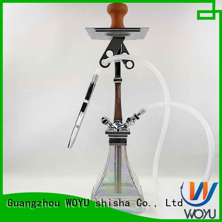 WOYU new zinc alloy shisha factory for sale