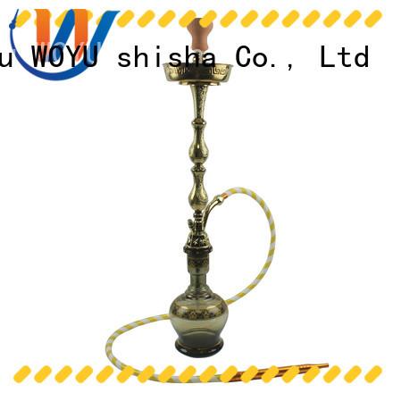 WOYU custom zinc alloy shisha manufacturer for smoker