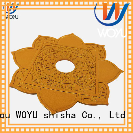 WOYU shisha plate factory for smoker