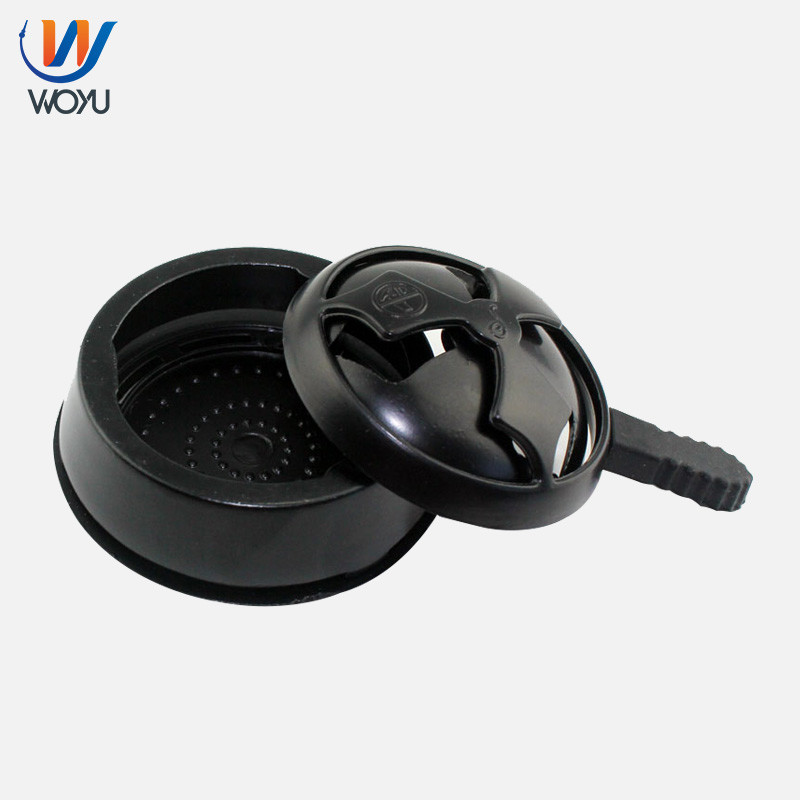 Black Color Shisha Aluminum Charcoal Holder