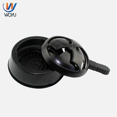 Black Color Shisha Aluminum Charcoal Holder